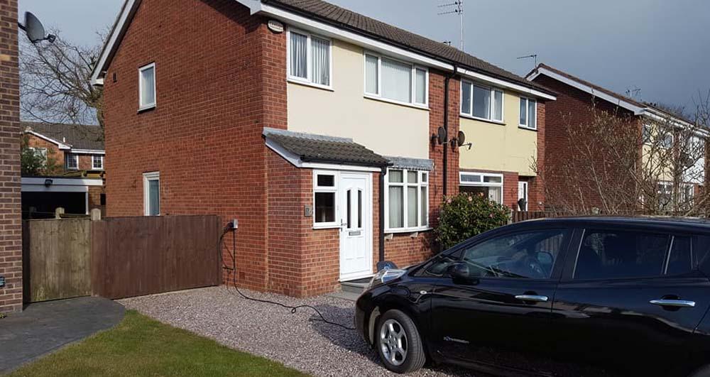 electric vehicle homecharge scheme